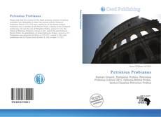 Capa do livro de Petronius Probianus