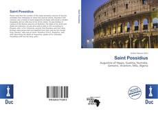 Bookcover of Saint Possidius
