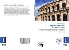 Copertina di Vettius Agorius Praetextatus