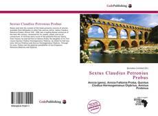 Portada del libro de Sextus Claudius Petronius Probus