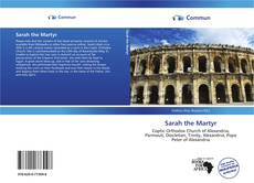 Couverture de Sarah the Martyr