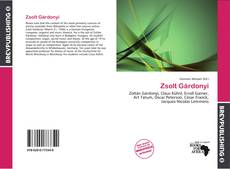 Bookcover of Zsolt Gárdonyi