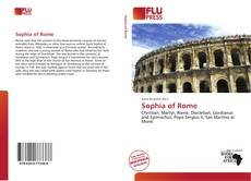 Couverture de Sophia of Rome