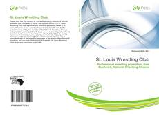 Bookcover of St. Louis Wrestling Club