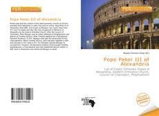 Bookcover of Pope Peter III of Alexandria