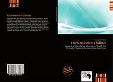 Buchcover von Erich-Heinrich Clößner