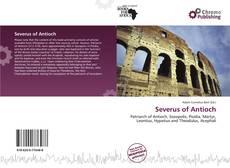 Buchcover von Severus of Antioch