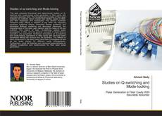 Capa do livro de Studies on Q-switching and Mode-locking