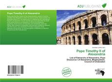 Capa do livro de Pope Timothy II of Alexandria