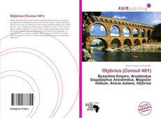Capa do livro de Olybrius (Consul 491)