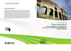 Bookcover of Pope Benedict I
