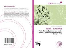 Bookcover of Paris-Tours 2003