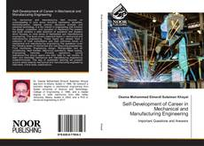 Couverture de Self-Development of Career in Mechanical and Manufacturing Engineering