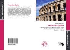 Bookcover of Venantius Opilio