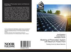 Bookcover of Modeling of Photovoltaic System with Maximum Power Point