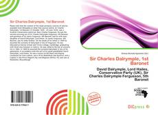 Bookcover of Sir Charles Dalrymple, 1st Baronet