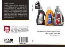 Bookcover of Tribology in Vehicles