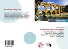 Обложка Constantine Kontomytes