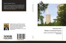 Bookcover of Modern University Physics