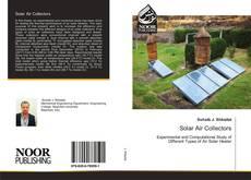 Обложка Solar Air Collectors
