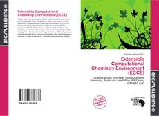 Capa do livro de Extensible Computational Chemistry Environment (ECCE)