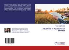 Обложка Advances in Agricultural Science