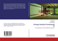 Bookcover of Energy Analysis Framework IV