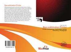 Portada del libro de Dye-sublimation Printer