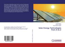 Bookcover of Solar Energy Technologies from A to Z