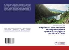 Capa do livro de Варианты обеспечения электроэнергией труднодоступного поселка в Тыве