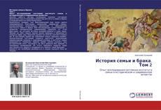 Buchcover von История семьи и брака. Том 2