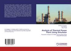 Couverture de Analysis of Thermal Power Plant Using Simulator
