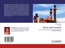Bookcover of Heavy metal removal