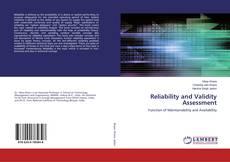 Borítókép a  Reliability and Validity Assessment - hoz