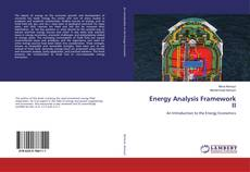 Capa do livro de Energy Analysis Framework II