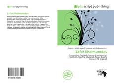 Bookcover of Zafar Kholmurodov