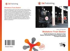 Bookcover of Waitakere Train Station