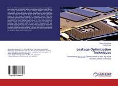 Buchcover von Leakage Optimization Techniques