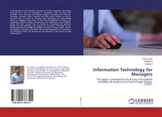 Bookcover of Information Technology for Managers
