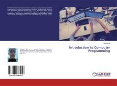 Portada del libro de Introduction to Computer Programming