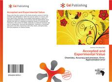 Bookcover of Accepted and Experimental Value