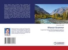 Bookcover of Khowar Grammar