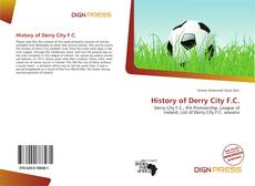 Bookcover of History of Derry City F.C.