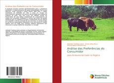 Bookcover of Análise das Preferências do Consumidor