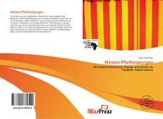 Capa do livro de Heimo Pfeifenberger
