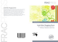 Bookcover of Cold Filter Plugging Point