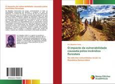 Portada del libro de O impacto da vulnerabilidade causada pelos incêndios florestais