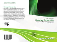 Monotype Corporation kitap kapağı