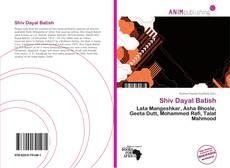 Buchcover von Shiv Dayal Batish