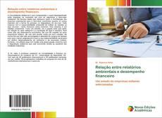 Bookcover of Relação entre relatórios ambientais e desempenho financeiro